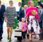 Queen Maxima of The Netherlands In Natan - European Academy of Neurology Congress
