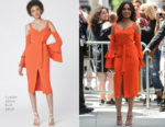 Regina Hall In Lavish Alice - 'The View'