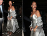 Rihanna In Nili Lotan - Chiltern Firehouse