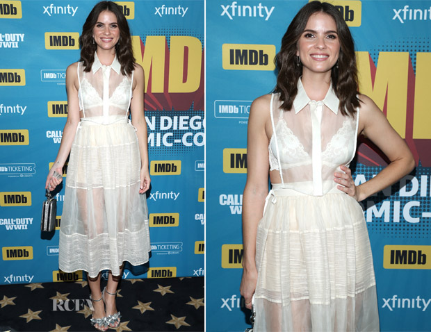 Shelley Hennig In Vivian Chan - #IMDboat At San Diego Comic-Con 2017