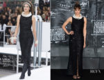 Sofia Boutella In Chanel - 'Atomic Blonde' Berlin Premiere