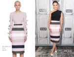 Sophia Bush In Wolford & By Johnny - Build Presents: The #NoHormonesPlz Initiative