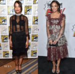Tessa Thompson In Marc Jacobs & Rodarte - Marvel Studios Hall H Panel & Entertainment Weekly Comic-Con Party