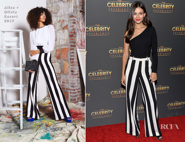 Victoria Justice In Alice + Olivia & LPA the Label - The Celebrity Experience