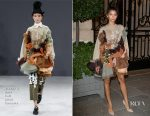 Zendaya Coleman In Viktor & Rolf Couture - Out In Paris