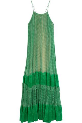 printed maxi dress - Green Stella McCartney mc2E4w