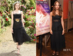 Alicia Vikander In Rodarte - 'Tulip Fever' London Screening