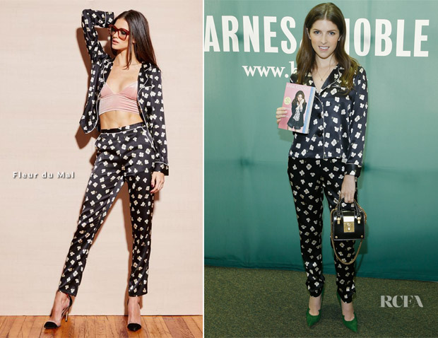 Anna Kendrick In Fleur du Mal - 'Scrappy Little Nobody' Book Signing