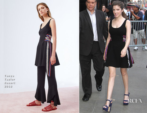 Anna Kendrick In Tanya Taylor - Good Morning America