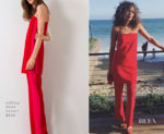 Ashley Madekwe In Jeffrey Dodd - bareMinerals Dinner Party