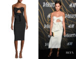 Ashley Tisdale's Milly Mackenzie Strapless Dress