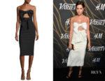 Ashley Tisdale's Milly Mackenzie Strapless Dress