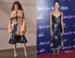 Aubery Plaza In Prabal Gurung - 'Ingrid Goes West' New York Premiere