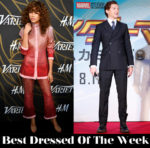 Best Dressed Of The Week - Zendaya Coleman in Vivetta & Tom Holland in Prada