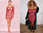 Beyonce Knowles continues to showcase her post-baby bod in House of CB