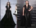 Camila Alves In Georges Chakra Couture - 'The Dark Tower' New York Premiere