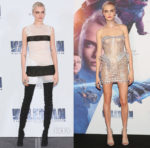 Cara Delevingne In Maison Margiela & Atelier Versace - 'Valerian And The City Of A Thousand Planets' Mexico City Photocall & Premiere