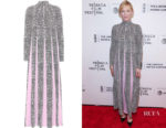 Cate Blanchett's Valentino Printed Crêpe Dress