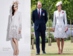 Catherine, Duchess of Cambridge In Catherine Walker - Passchendaele Commemorations