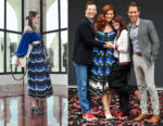 Debra Messing In Fendi - 'Will & Grace' Ribbon Cutting Ceremony
