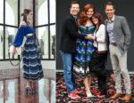 Debra Messing In Fendi - 'Will & Grace' Ribbon Cutting Ceremony