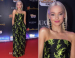 Dove Cameron In Oscar de la Renta - 'Descendants 2' Sao Paulo Premiere