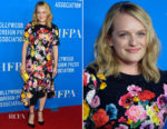 Elisabeth Moss In Preen - Hollywood Foreign Press Association's Grants Banquet