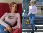 Emma Roberts' J Brand X Bella Freud Cashmere Pretty Baby Jumper