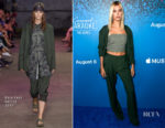 Hailey Baldwin In Baja East - 'Carpool Karaoke: The Series' On Apple Music Launch Party