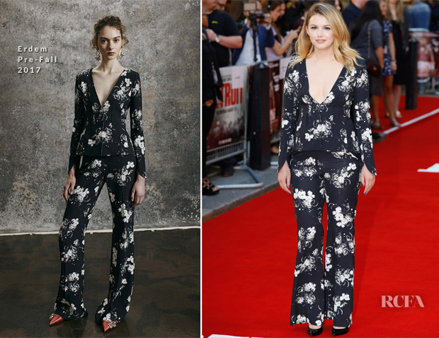 Hannah Murray In Erdem - 'Detroit' London Premiere