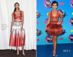 Isabela Moner In Sophie Theallet - 2017 Teen Choice Awards