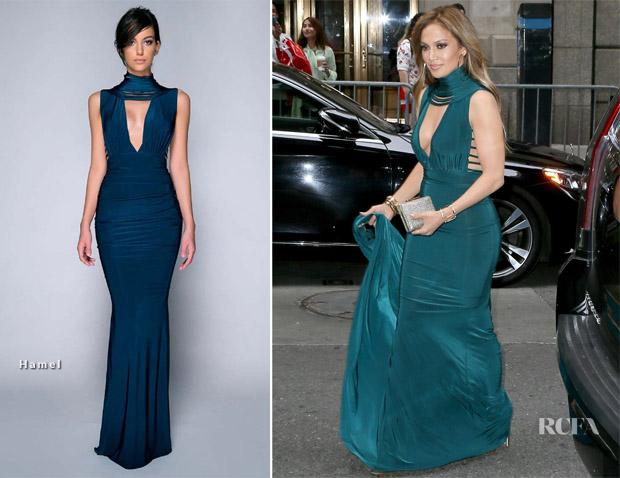 Jennifer Lopez Attends A Friends Wedding With A-Rod In A
