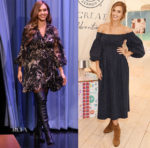 Jessica Alba In Zimmerman & The Great - The Tonight Show Starring Jimmy Fallon & The Honest Company Party