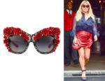 Jessica Simpson's Dolce & Gabbana Dolce Cat-Eye Sunglasses