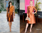 Julianne Hough In Jenny Packham - harper by Harper's BAZAAR September Issue Party
