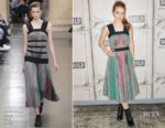 Kaitlyn Dever In Christopher Kane - Build Presents The Cast Of 'Detroit'