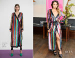 Kat Graham In Attico - harper by Harper's BAZAAR September Issue Party