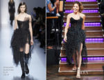 Kate Beckinsale In Ermanno Scervino - The Late Late Show with James Corden