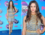 Katherine Langford In Prada – 2017 Teen Choice Awards