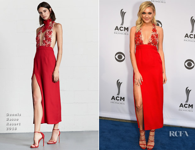 Kelsea Ballerini In Dennis Basso - 11th Annual ACM Honors