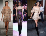 Kendall Jenner's Zimmermann dress may say Summer, but her Alexandre Vauthier Couture boots say Fall