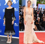 Kristen Wiig In Prabal Gurung & Zuhair Murad Couture - 'Downsizing' Venice Film Festival Photocall & Premiere