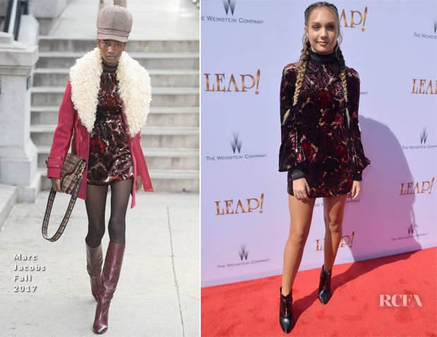 Maddie Ziegler In Marc Jacobs - 'Leap!' LA Premiere
