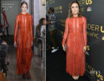 Mandy Moore In Valentino - 'This is Us' FYC event