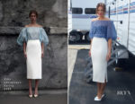 Mandy Moore In Vika Gazinskaya  - 'This Is Us' HFPA Press Conference