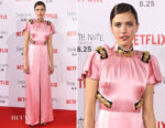 Margaret Qualley In Prada - 'Death Note' Toyko Premiere