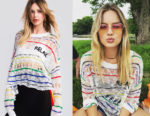 Margot Robbie's Wildfox Relax Alto Sweater