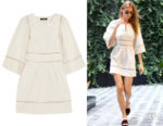 Martha Hunt's Isabel Marant Off-White Reone Dress