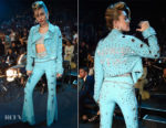 Miley Cyrus In Custom Jeremy Scott - 2017 MTV VMAs