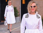 Naomi Watts was all white once again in Rochas